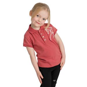 Horseware® Girls Flamboro Polo Rose