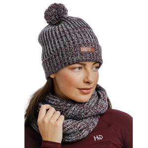 Horseware® Knitted Hat & Snood Port Aviation Blue