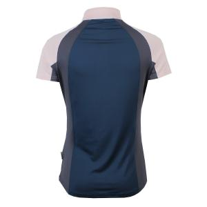 Horseware® Ladies Aveen Short Sleeve Tech Top Navy/Rosewater