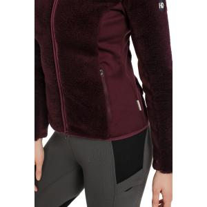 Horseware® Ladies Cardi Cozy Fleece Fig