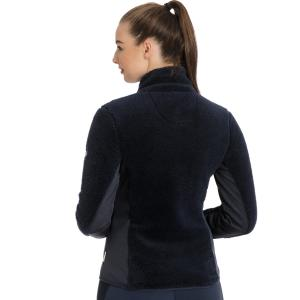Horseware® Ladies Cardi Cozy Fleece Navy