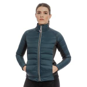 Horseware® Ladies Ona Hybrid Jacket Petrol Blue