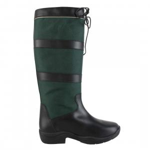 Horseware® Ladies Original Pull Up Boots Black Green