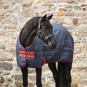 Horseware® Mio Insulator 300g Heavy Weight Standard Neck Stable Rug Navy/Red