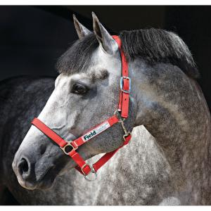 Horseware® Rambo® Fieldsafe® Headcollar Red