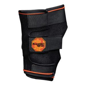 Horseware® Rambo Ionic® Therapy Hock Boots Black/Orange