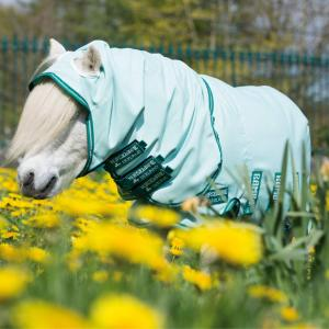 Horseware® Rambo® Petite Sweet Itch Hoody Ice Green