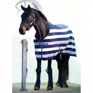 Horseware® Rambo® Deluxe Fleece Whitney Stripe Navy