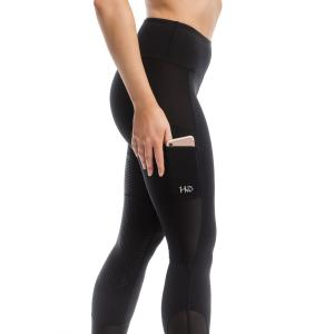 Horseware® Ladies Silicone Grip Riding Tights Black