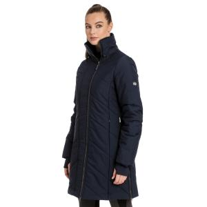 Horseware® Ladies Long Lined Padded Coat Navy
