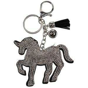 Horze Key Chain Black/Silver