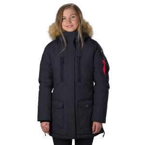 Horze Ladies Brooke Parka Dark Navy