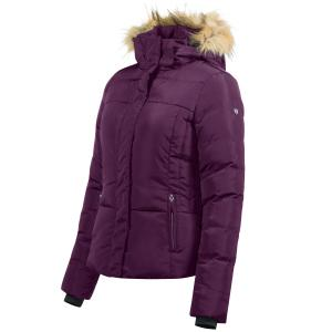 Horze Ladies Camilla Jacket Prune Purple