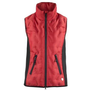 Horze Ladies Shelly Light Padded Gilet Scarlet Sage