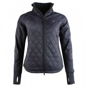 Horze Ladies Zoe Lightweight Padded Jacket Dark Navy