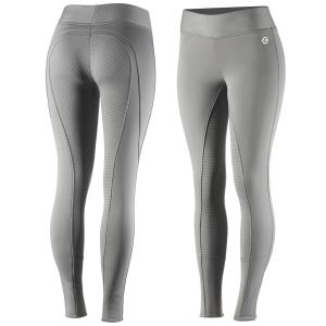 Horze Ladies Active Winter Silicone Full Seat Tights Fallen Rock