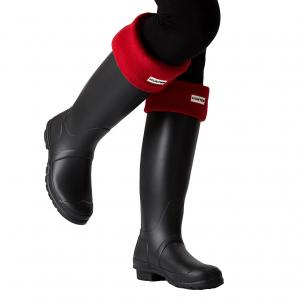Hunter Adult Boot Socks Military Red