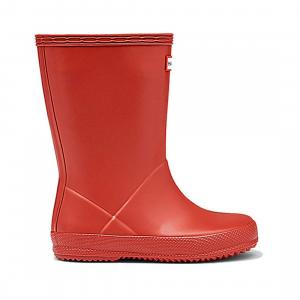 Hunter Kids First Classic Wellington Boots Military Red