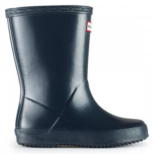 Hunter Kids First Classic Wellington Boots Navy