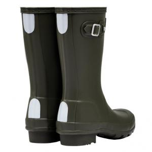 Hunter Kids Original Wellington Boots Dark Olive