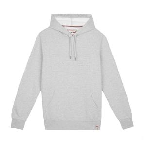 Hunter Mens Original Logo Hoodie Grey Marl