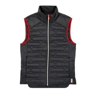 Hunter Mens Original Midlayer Gilet Black