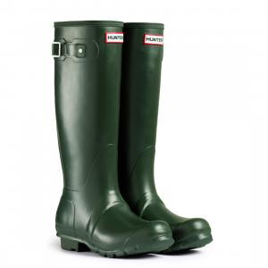 Hunter Ladies Original Tall Wellington Boots Dark Olive