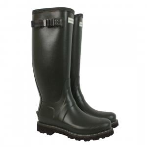 Hunter Mens Balmoral II Wellies Dark Olive