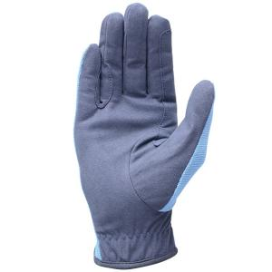 HY5 Childs Everyday Two Tone Riding Gloves Navy/Sky