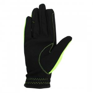 HY5 Adults Reflective Softshell Gloves Yellow