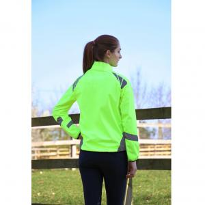 Hy HyVIS Equestrian Reflector Jacket Yellow