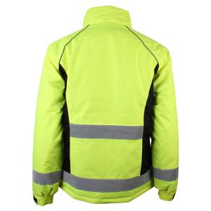 HyVIS Ladies Waterproof Riding Jacket Yellow