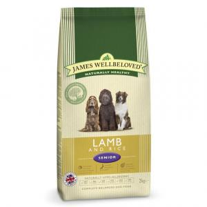 James Wellbeloved Senior Lamb & Rice Dog Food 2kg