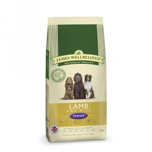 James Wellbeloved Senior Lamb & Rice Dog Food 15kg