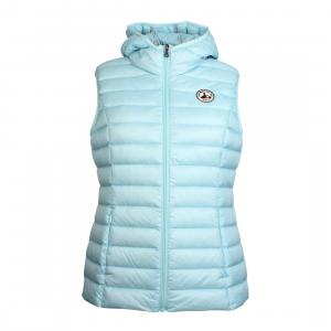Jott Ladies Mali Hooded Gilet Bleu Ciel