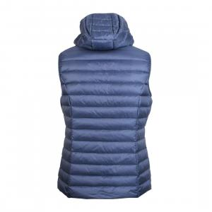 Jott Ladies Mali Hooded Gilet Bleu Jeans