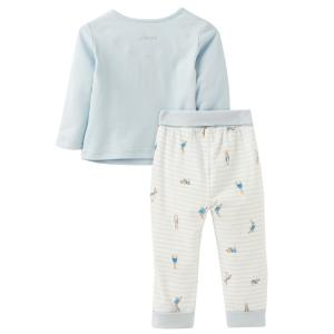 Joules Baby Byron Applique Set Blue Peter Rabbit