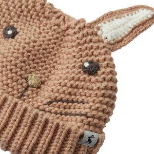 Joules Baby Rabbit Hat Brown Peter Rabbit
