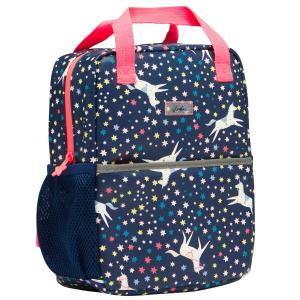 Joules Childs Adventure Bag Navy Unicorn