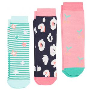 Joules Childs Bamboo Socks Multi Print