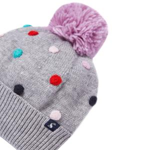 Joules Childs Bella Hat Grey