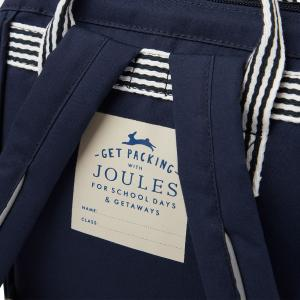 Joules Childs Coast Mini Rucksack French Navy