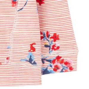 Joules Childs Marlston Hoody Floral Stripe
