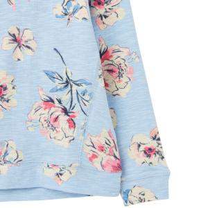 Joules Childs Marlston Top Blue Flower