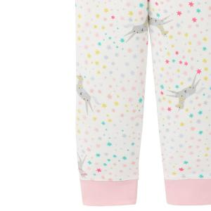 Joules Childs Sleepwell Pyjamas Pink Horse