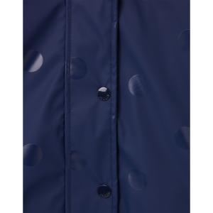 Joules Childs Splashley Coat Navy Spot