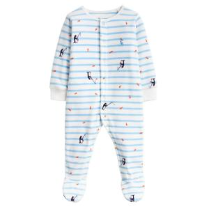Joules Baby Cosmo Babygrow Blue Stripe Fishing
