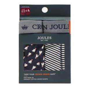 Joules Mens Crown Joules Boxers 2 Pack Top Dog