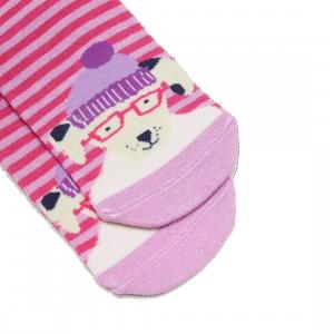 Joules Girls Neat Feet Junior Socks Dalmation