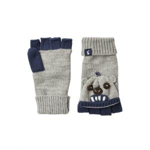 Joules Junior Chummy Glitten Grey Bear